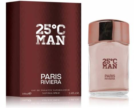 25°C Man Perfumes EdT 100 ml Paris Riviera