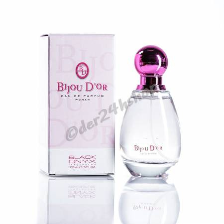 Bijou D'or Pink Woman Perfume EdP 100 ml Black Onyx