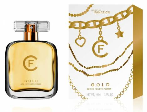 Gold for Woman Perfume 100 ml EdT Cosmetica Fanatica
