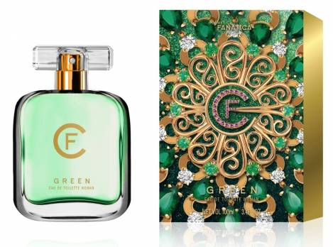 Green for Woman Damen Parfüm EdT 100 ml Cosmetica Fanatica