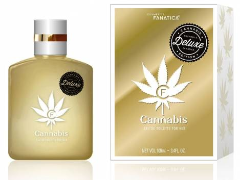 Cannabis Gold Deluxe Woman Perfume 100 ml EdT Cosmetica Fanatica