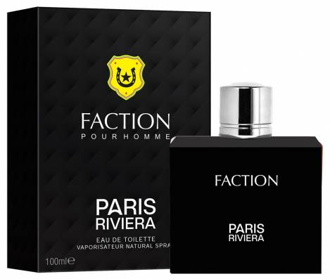 Faction Herren Parfüm EdT 100 ml Paris Riviera