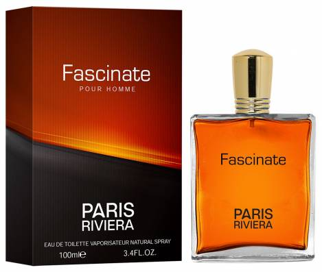 Fascinate Herren Parfüm EdT 100 ml Paris Riviera
