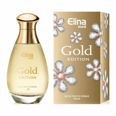 Gold Women Damen Parfüm EdT 100 ml Elina