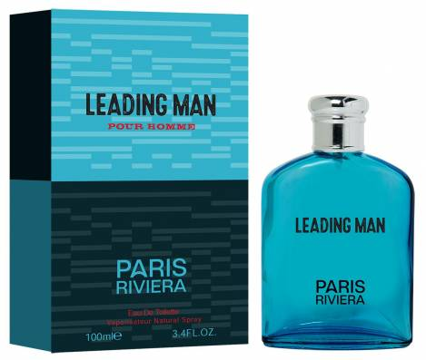 Leading Men Herren Parfüm EdT 100 ml Paris Riviera