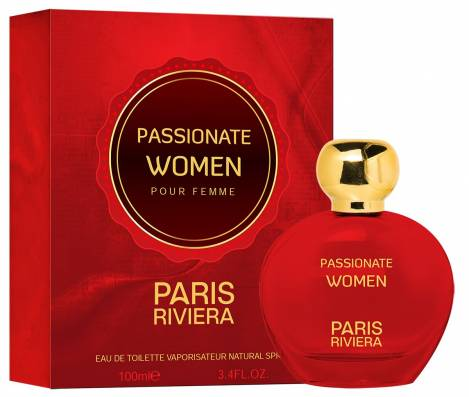 Passionate Damen Parfüm EdT 100 ml Paris Riviera