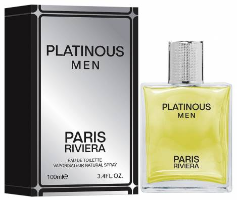 Platinous Men Herren Parfüm EdT 100 ml Paris Riviera