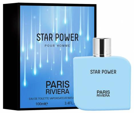 Star Power Herren Parfüm EdT 100 ml Paris Riviera
