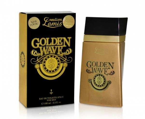 Golden Wave Herren Parfüm EdT 100 ml Creation Lamis