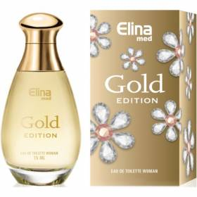 Gold Women Mini Perfume EdT 15 ml Elina
